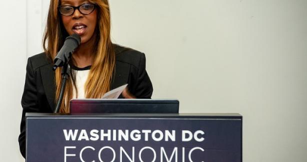 Mariessa Terrell speaking
